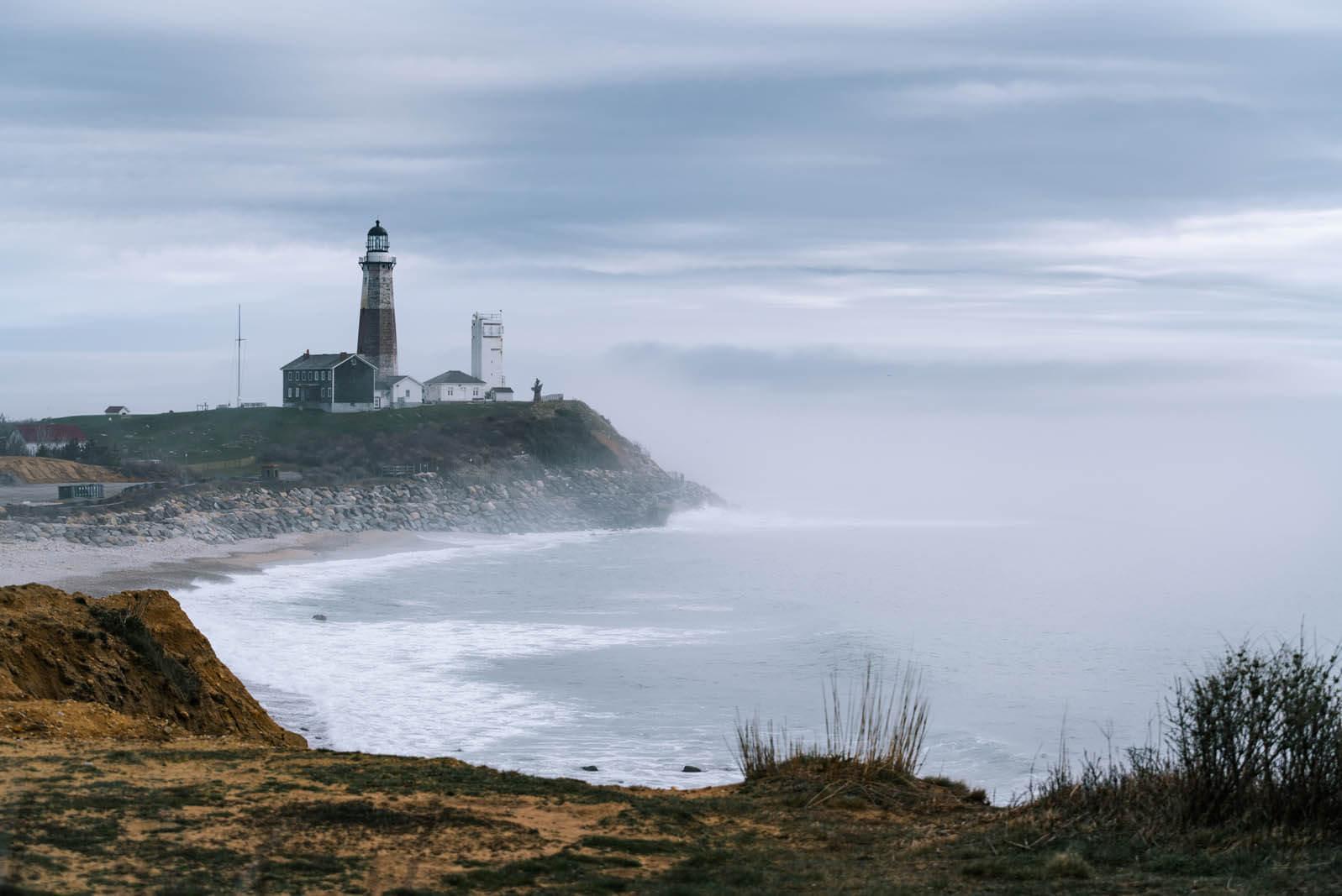 Montauk Point Lighthouse in the Hamptons New York