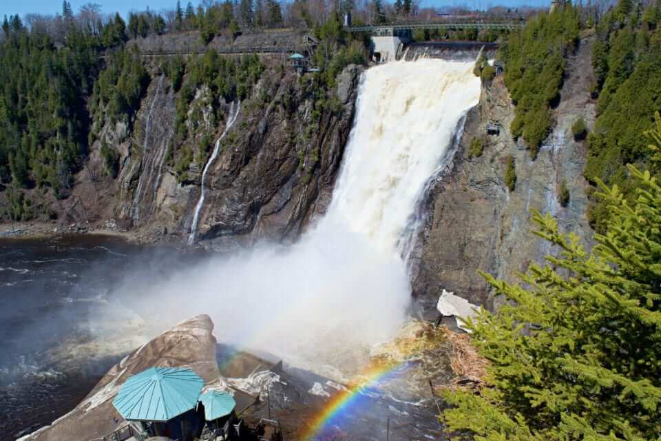 Montmorency-Falls-day trip from Montreal