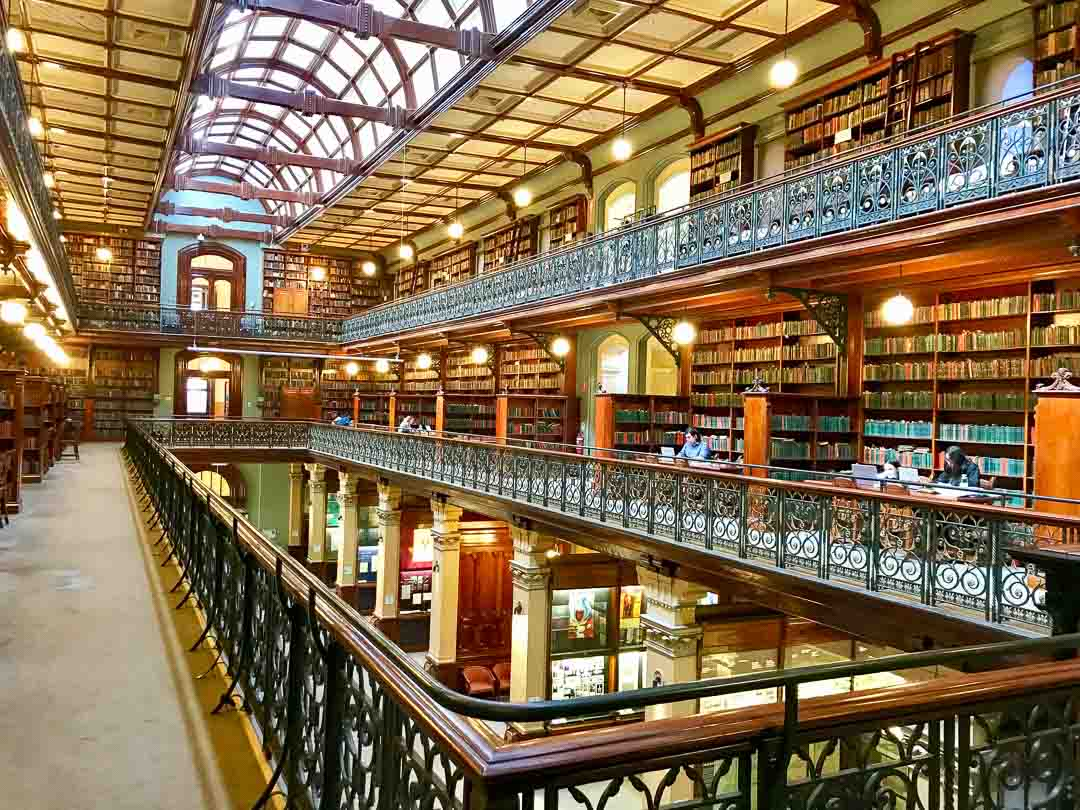 Mortlock Wing in the State Library of South Australia