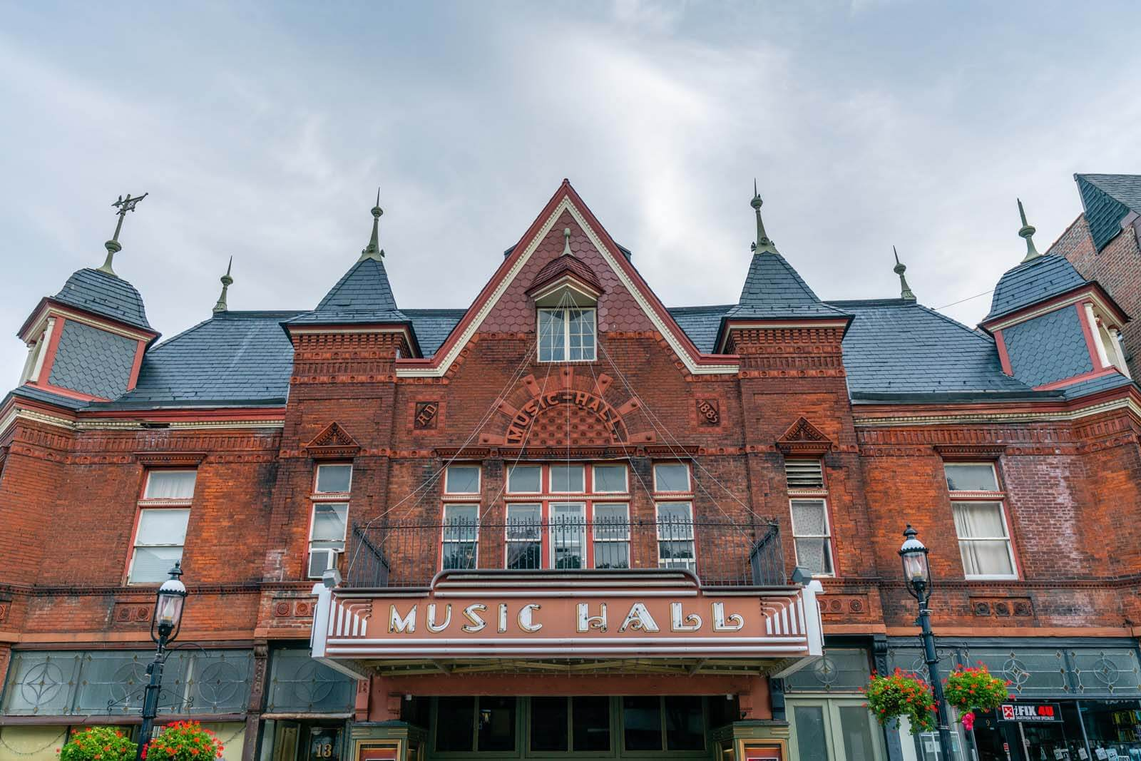 Music Hall in downtown Tarrytown NY