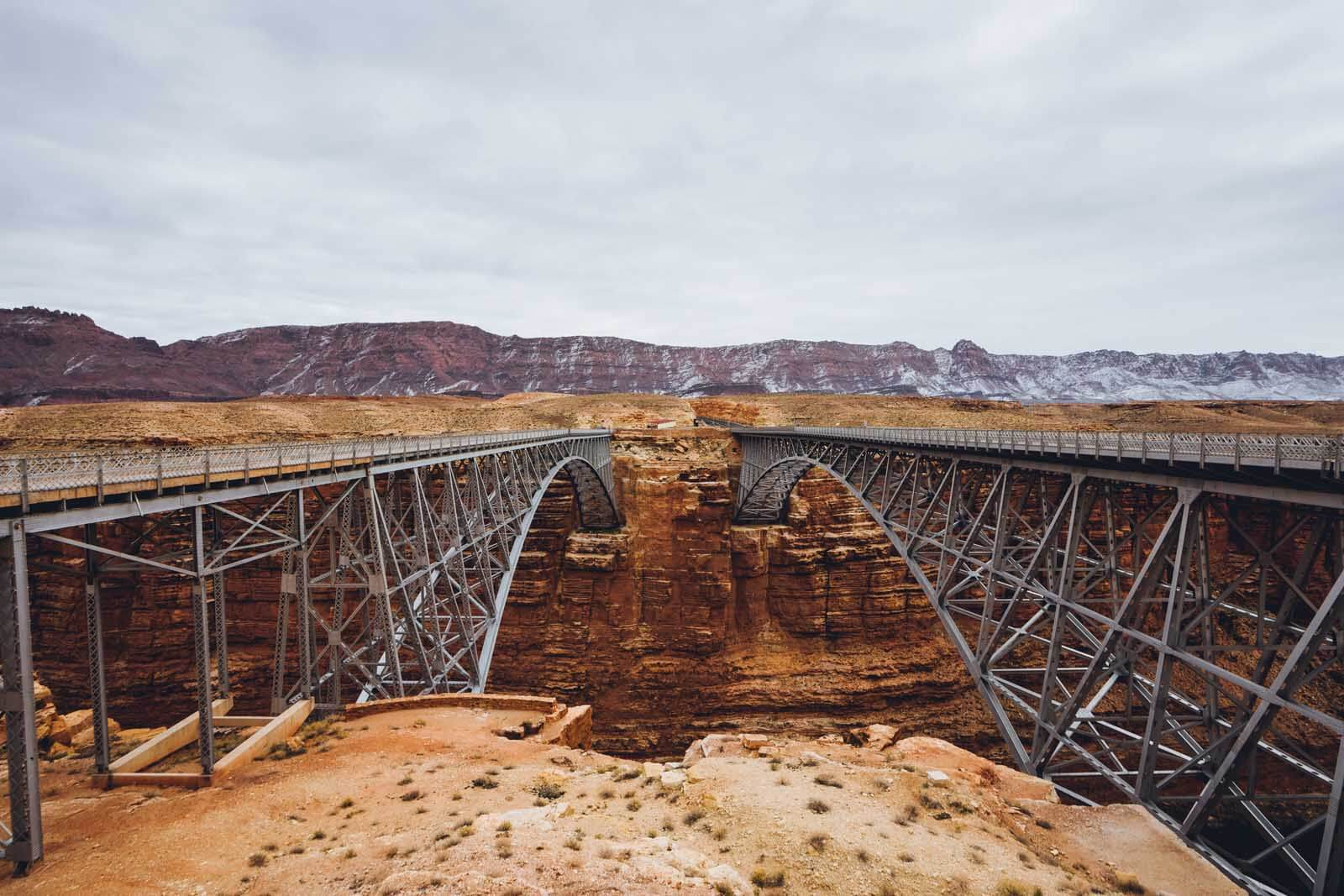 The double Navajo Bridge