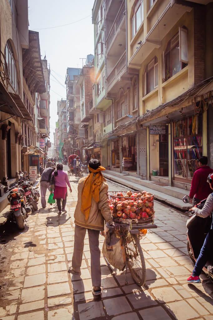 Asan Tole Bazaar Kathmandu