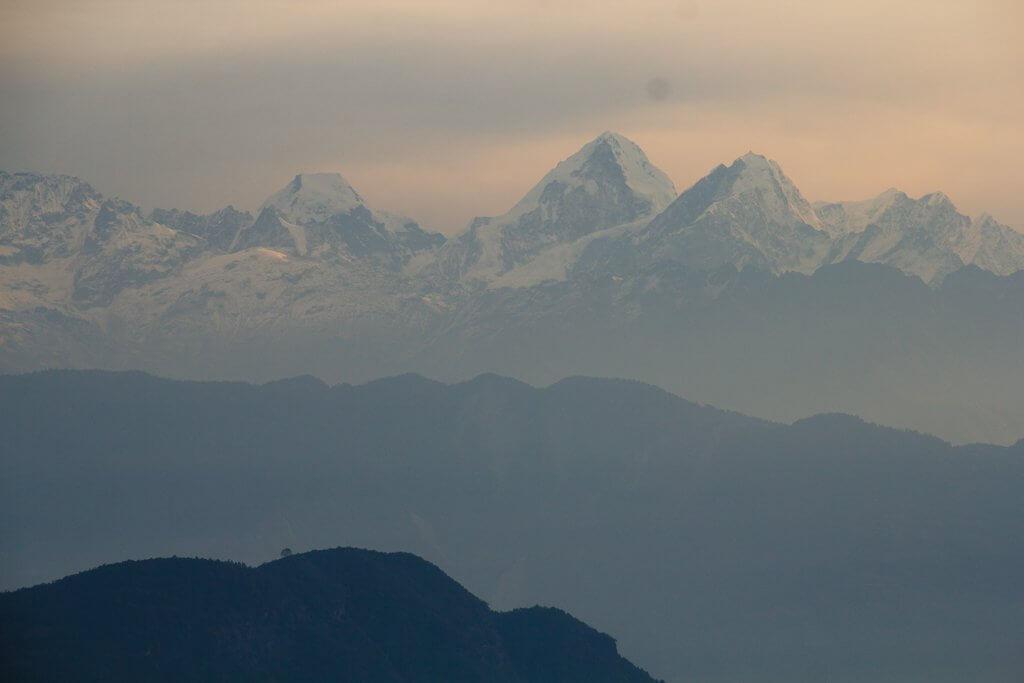 Chisipani View Kathmandu Valley Rim Trek
