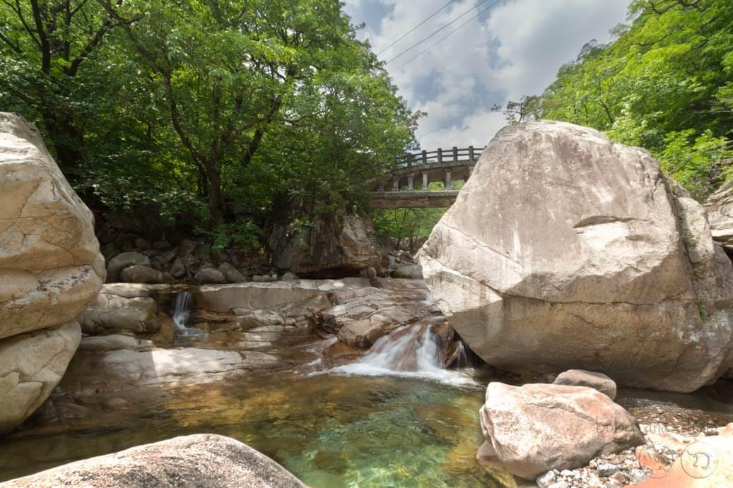 Biseondae Rocks Fairy Pools