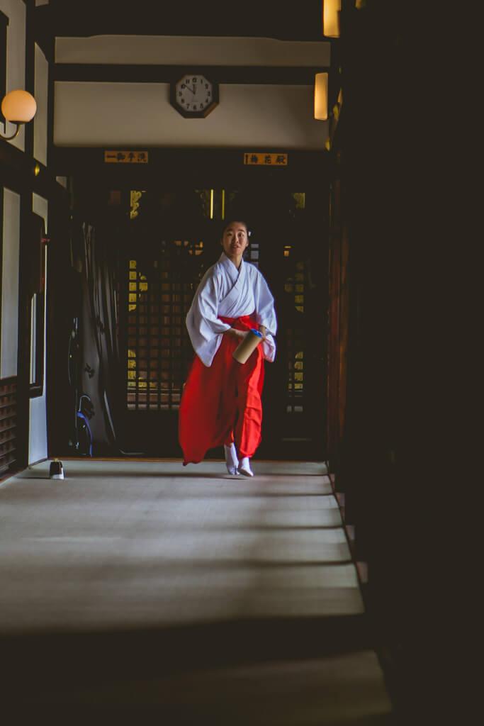 Osaka Castle Woman