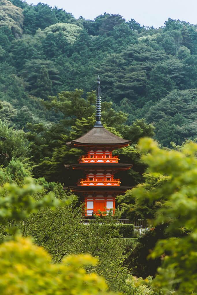 Toji Shrine in Kyoto