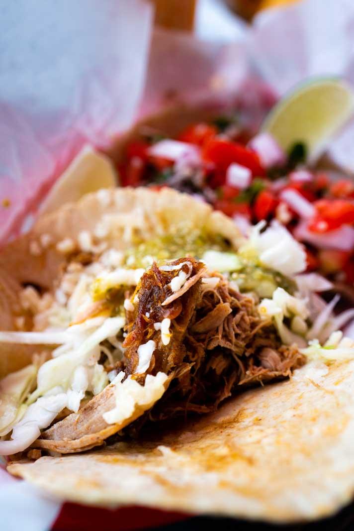 Owego tacos from las chicas taqueria
