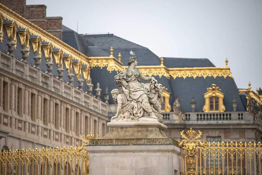 Palace of Versailles in Paris