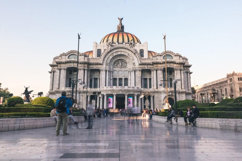 Palacio De Bellas Artes Mexico City Mexico