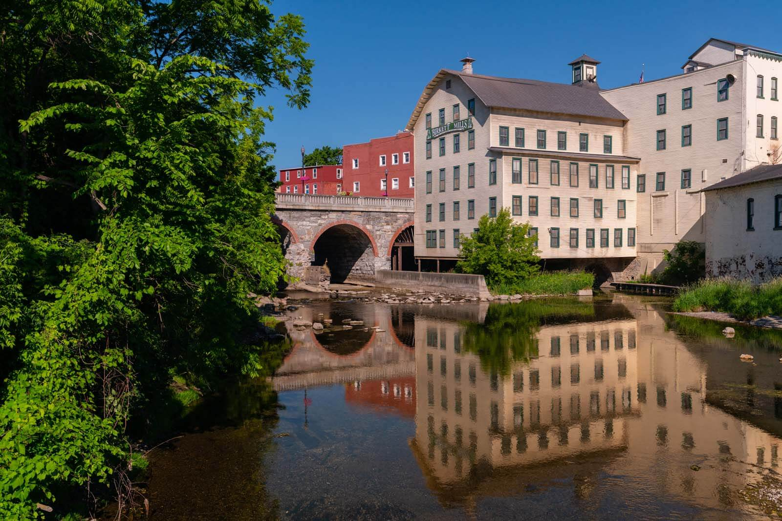 Birkett Mills in Penn Yan New York