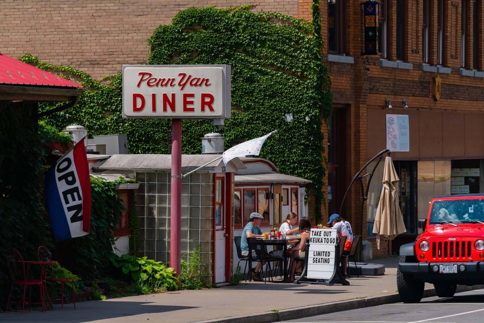 Penn Yan Diner in Penn Yan New York
