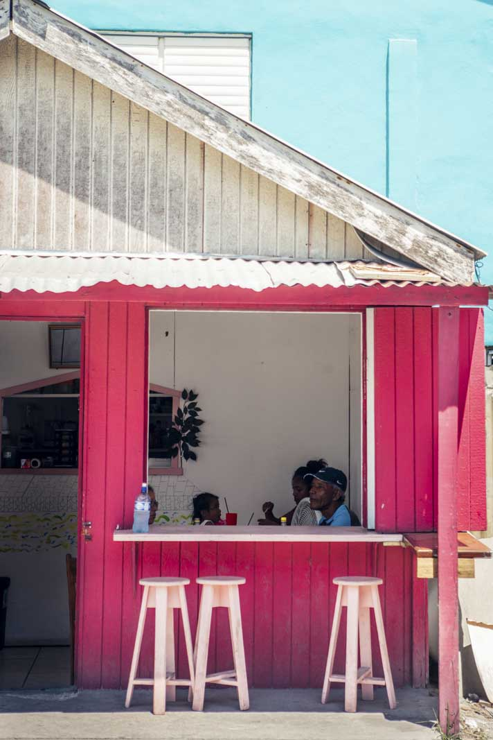 Food stand in San Pedro