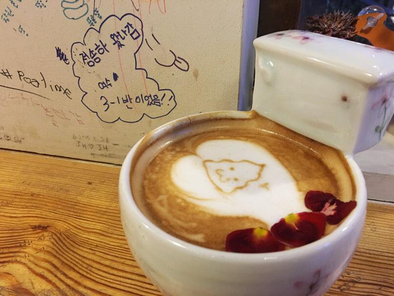 Poop Cafe in Seoul