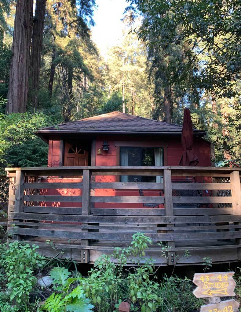 Riverside-campground-and-cabins-in-Big-Sur-California