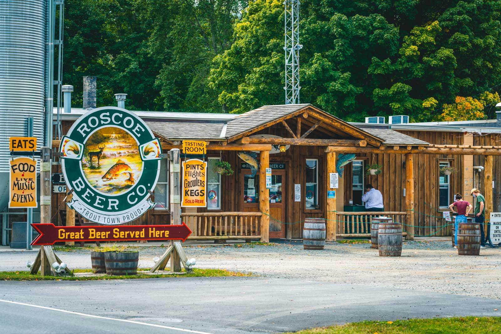 Roscoe Beer Company in the Catskills NY