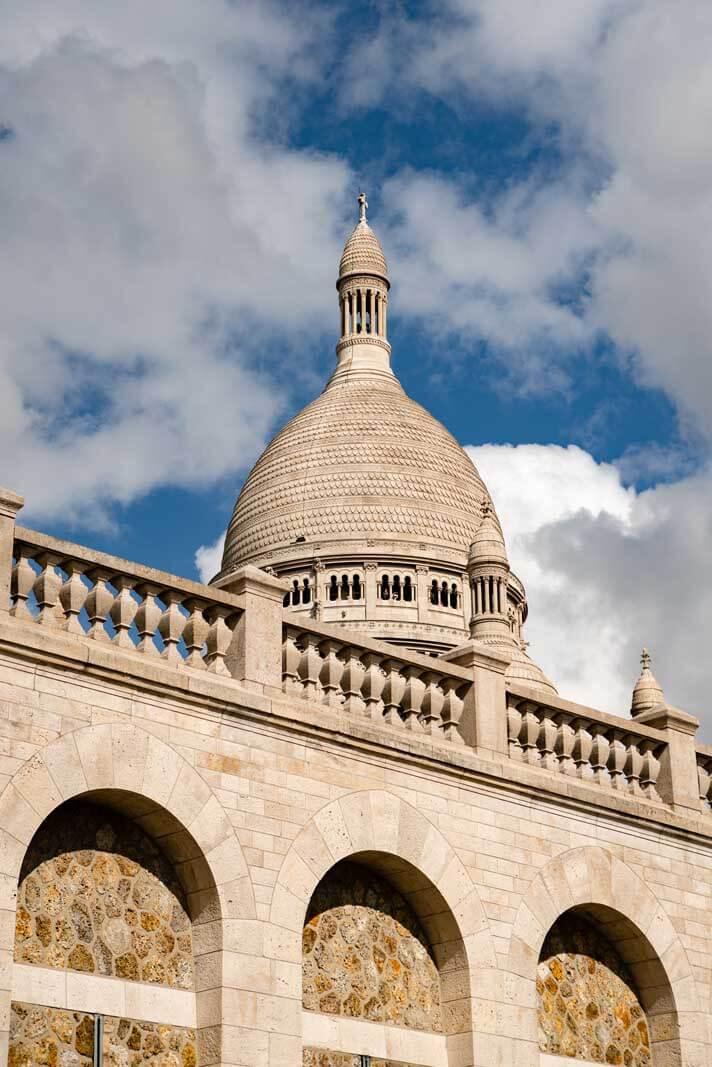 Sacre Couer in Montmartre Paris