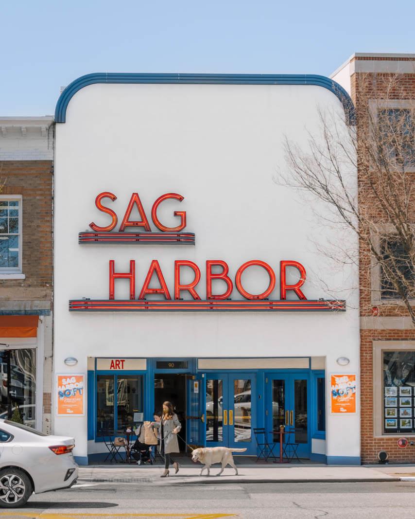 Sag Harbor cinema in the Hamptons New York