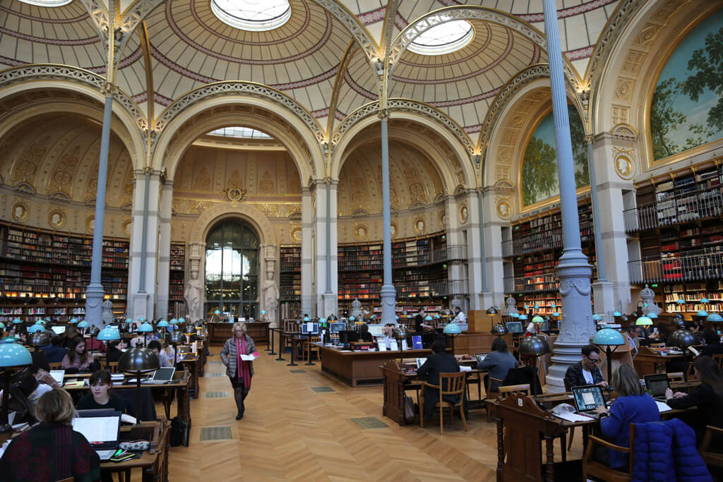 Salle-Labrouste-BNF-Paris prettiest libraries of the world