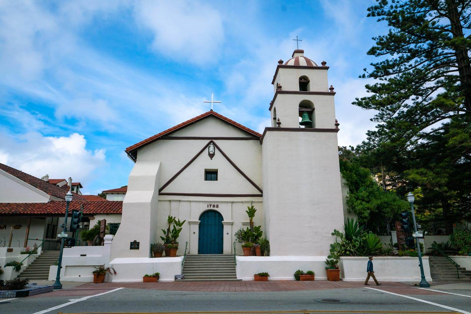 San Buenaventura Mission in Downtown Ventura California