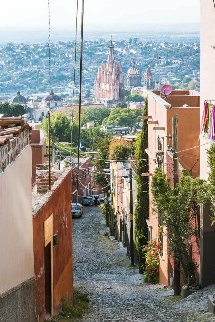 View of San Miguel De Allende from the Street