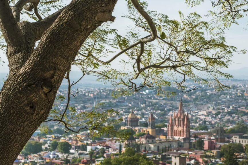 View of San Miguel de Allende from Viewpoint