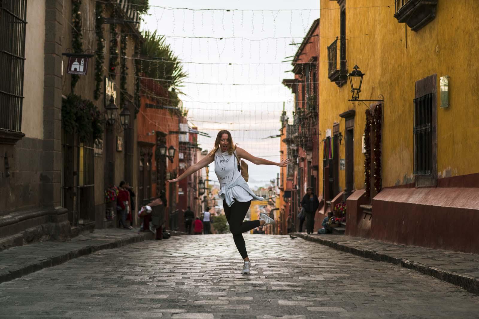 Dancing in the streets of San Miguel de Allende