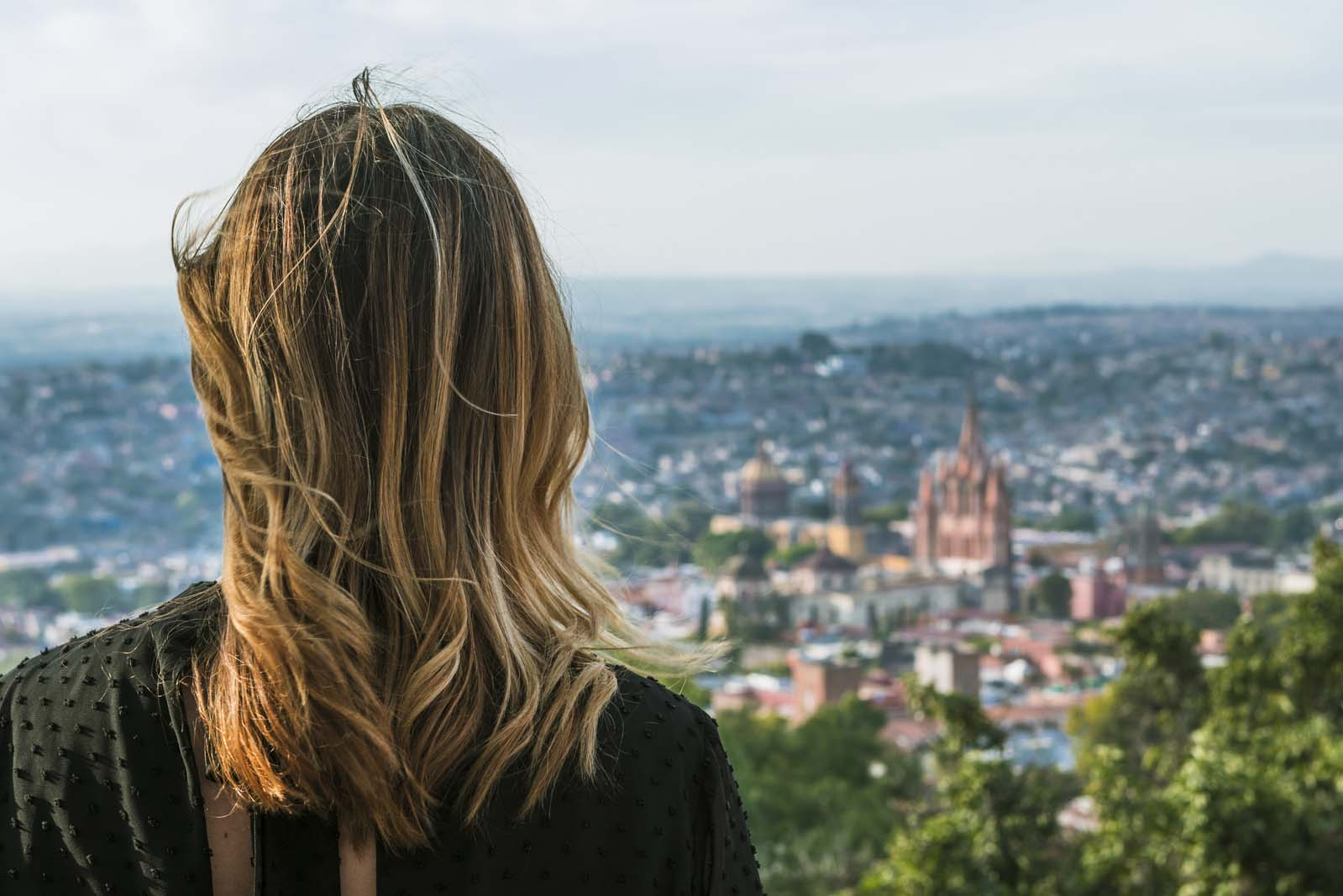 San Miguel De Allende from Viewpoint