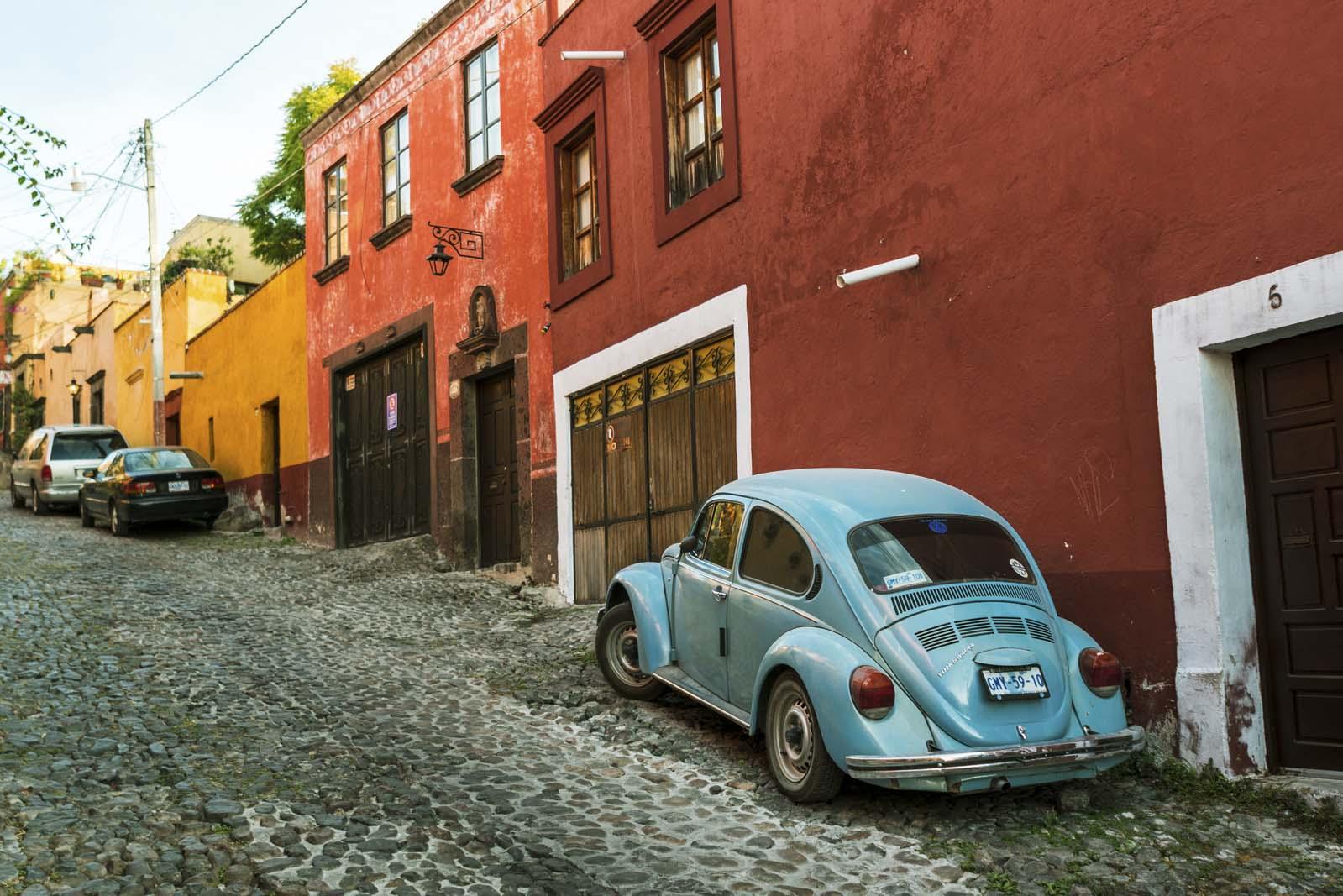 Another beautiful street view of San Miguel de Allende