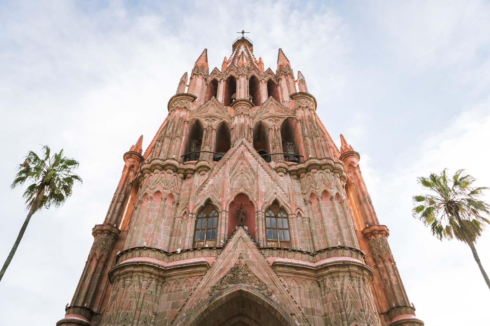 Church of St. Michael the Archangel in San Miguel de Allende