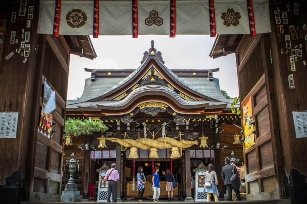 Kushida Shrine | Fukuoka Travel Guide