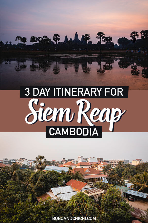 Siem Reap itinerary