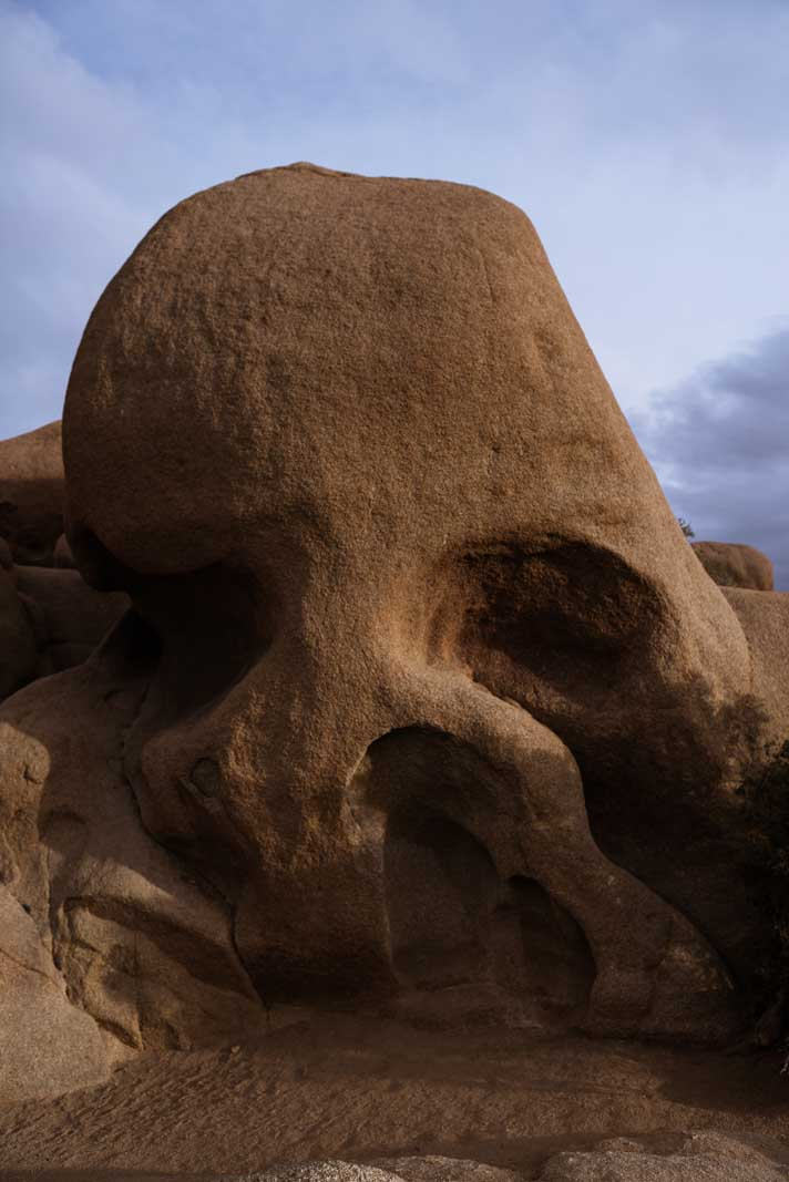 Skull Rock in Joshua Tree