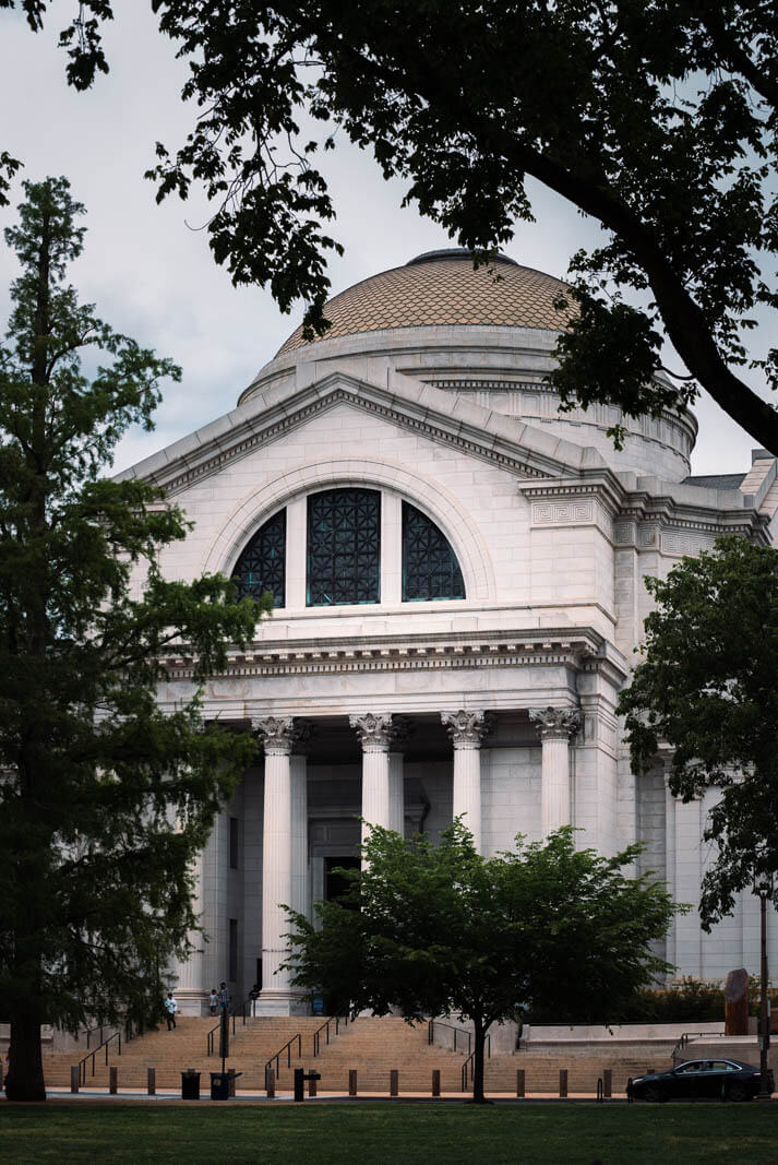 Smithsonian Museum of Natural History on the National Mall in Washington DC