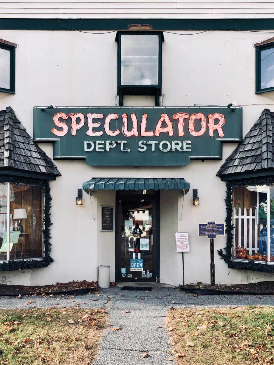 Speculator-general-store-in-the-Adirondack-town-of-Speculator-in-New-York