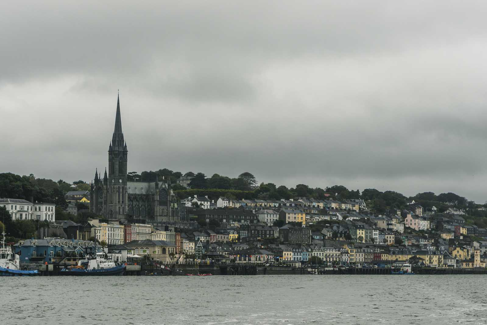 View from Cobh Harbor