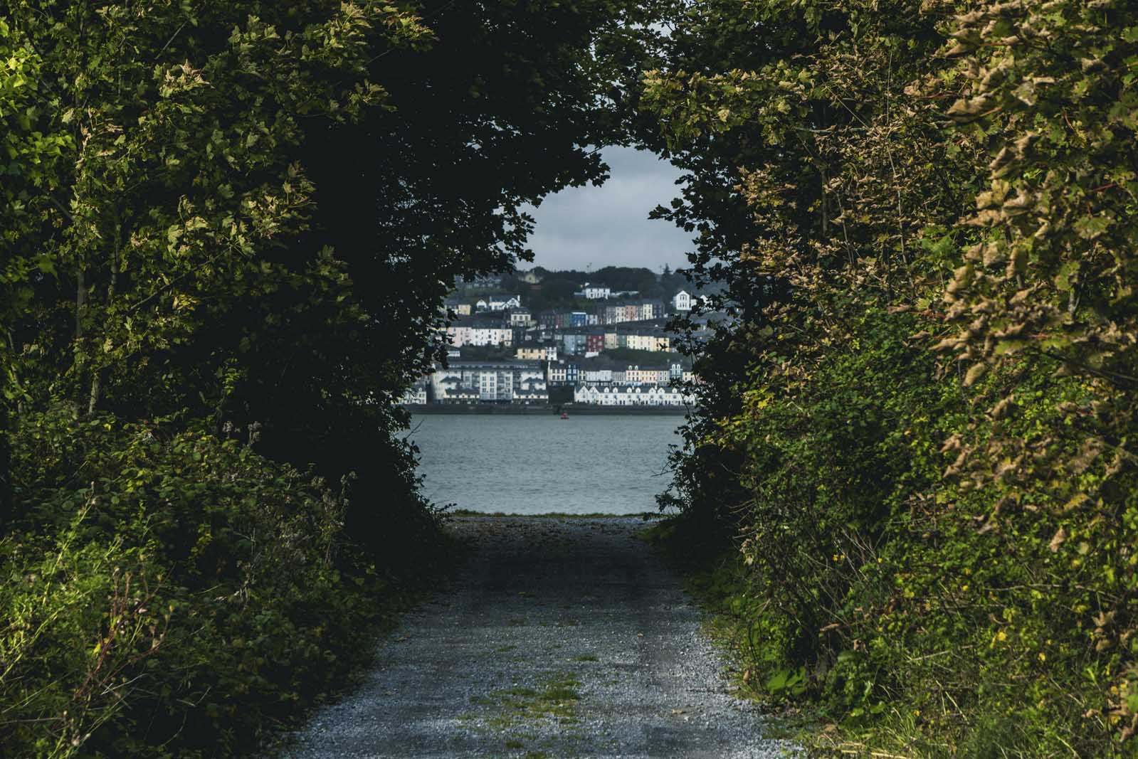 View from Spike Island in Cobh Ireland