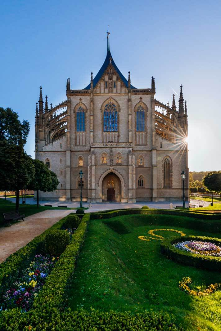 St Barbaras Cathedral in Kutna Hora