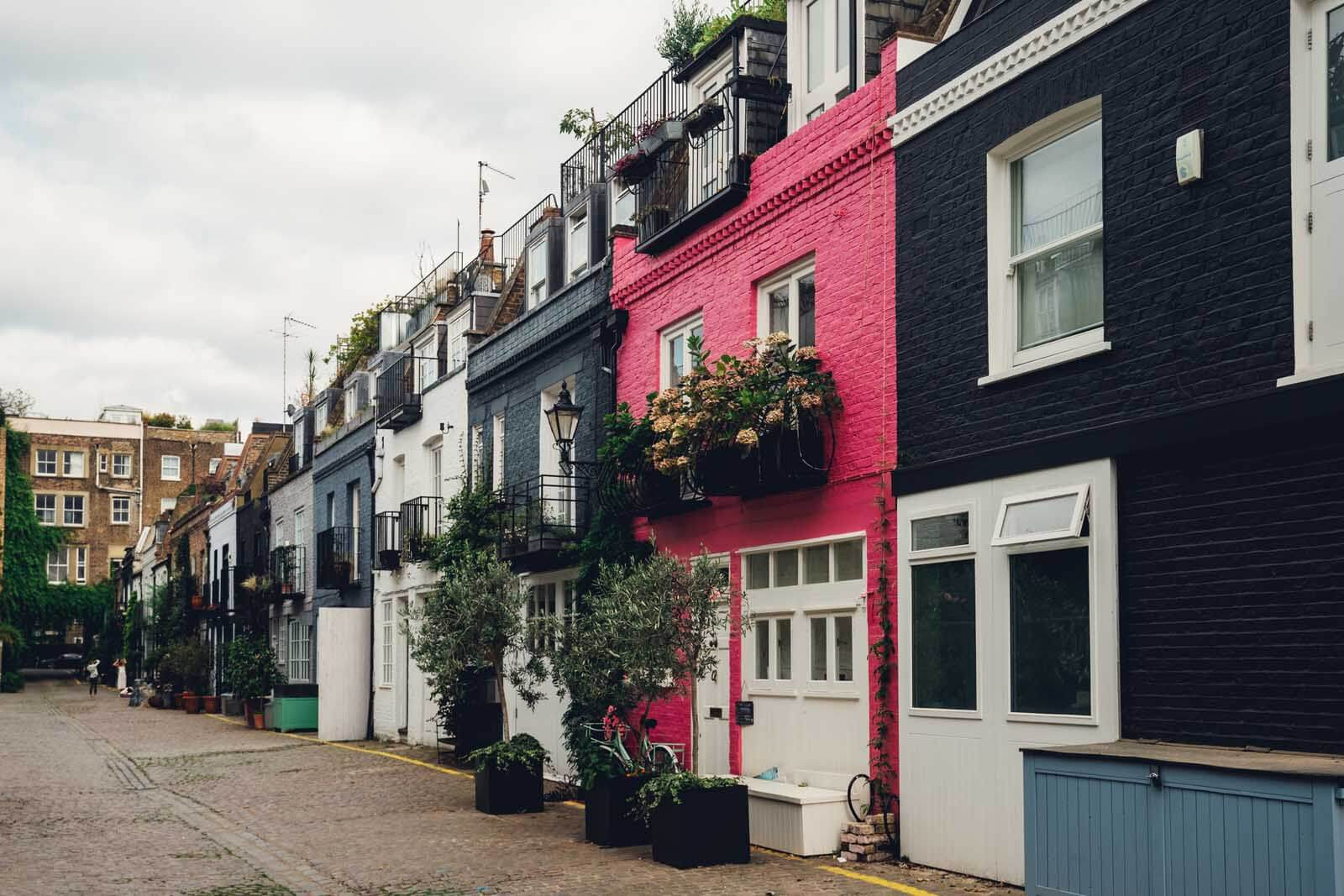 St Lukes Mews in Notting Hill London