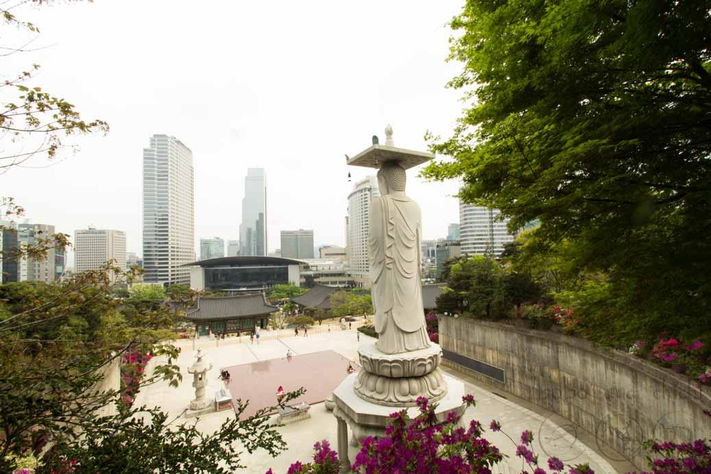 COEX Bonguensa Temple Seoul