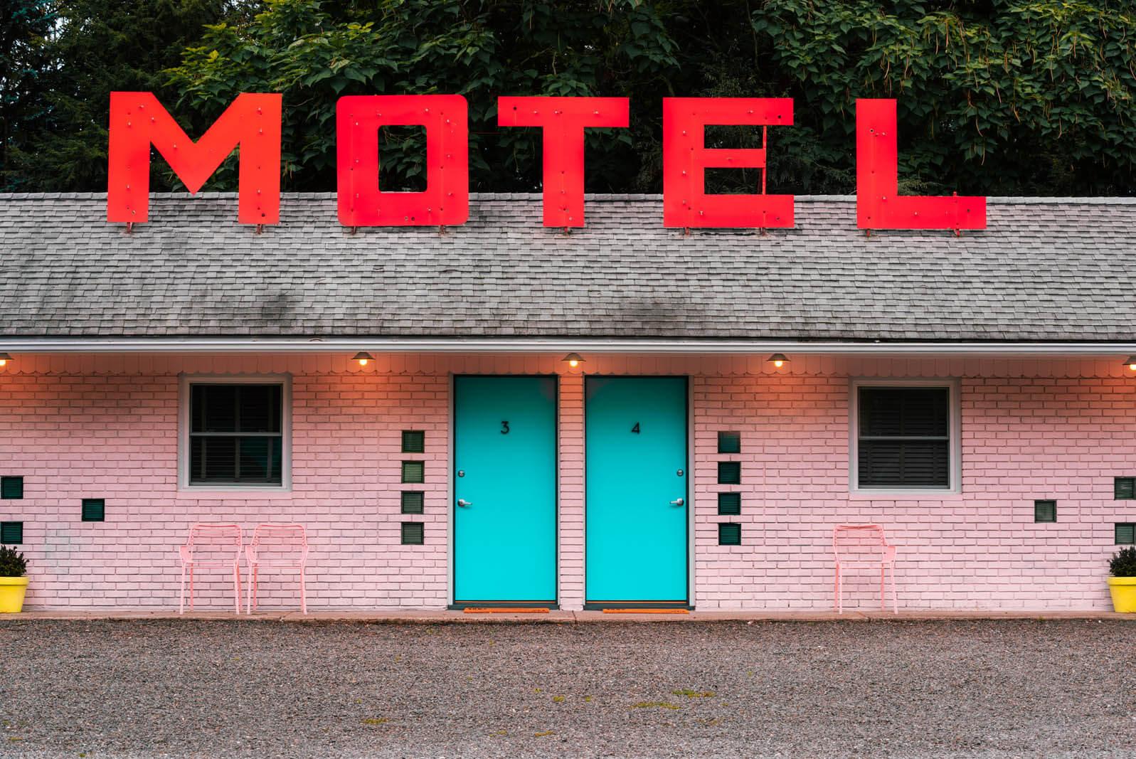 Starlite Motel in Kerhonkson New York in the Catskills