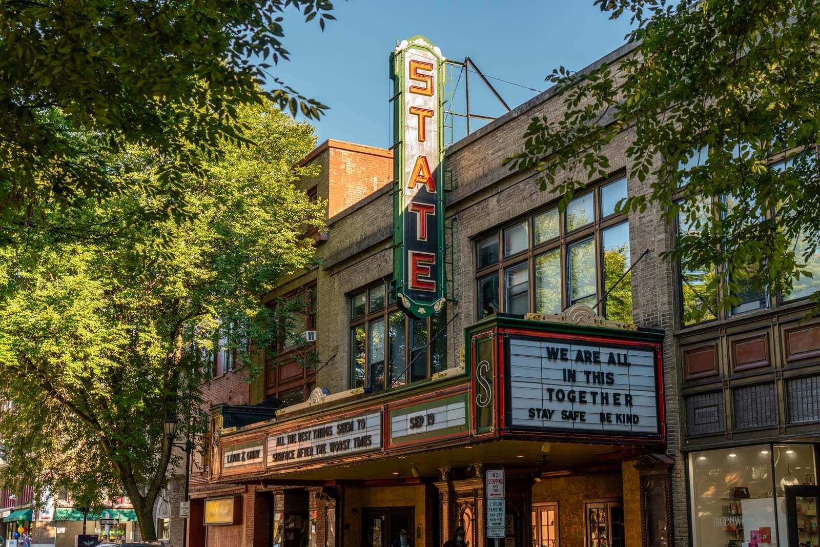 State Theater in Downtown Ithaca