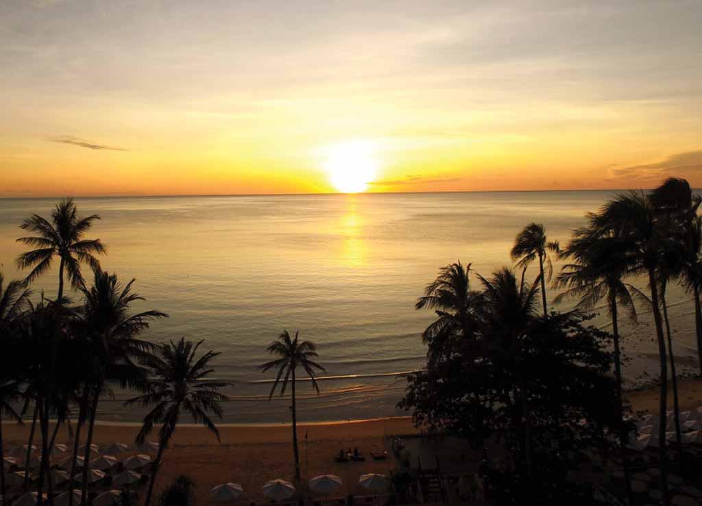 Sunset at Koh Samui Thailand