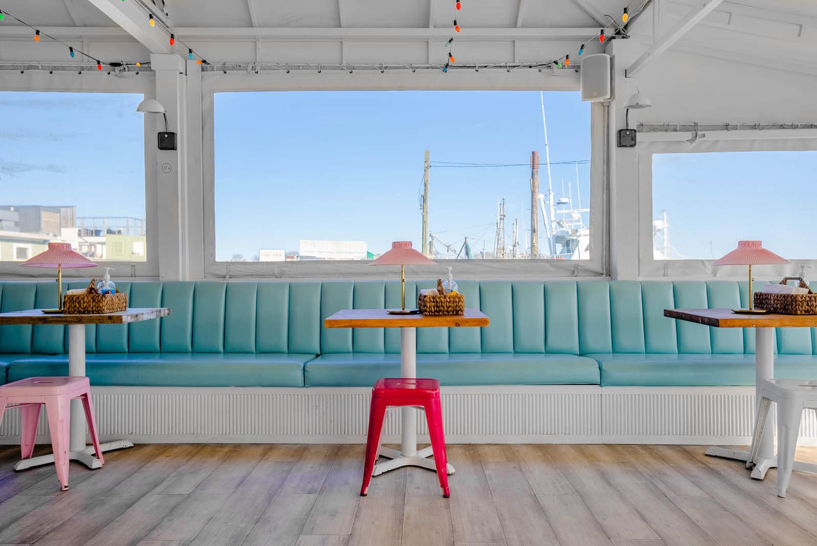 TTs Montauk restaurant interior in the Hamptons New York