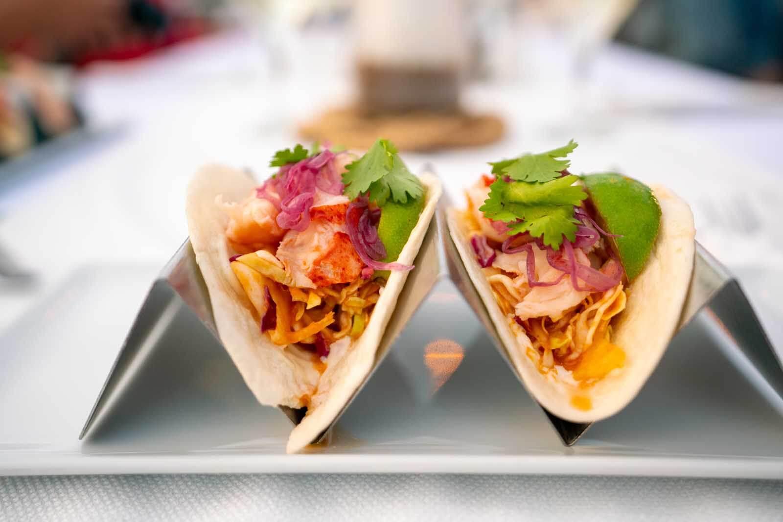 fish tacos in Lunenburg
