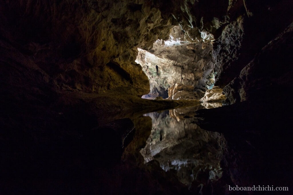 Tham Xieng Liap Cave in Laos