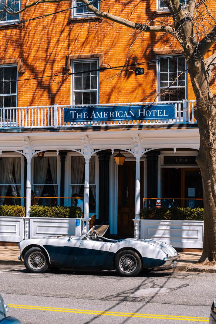 The American Hotel in Sag Harbor the Hamptons Long Island