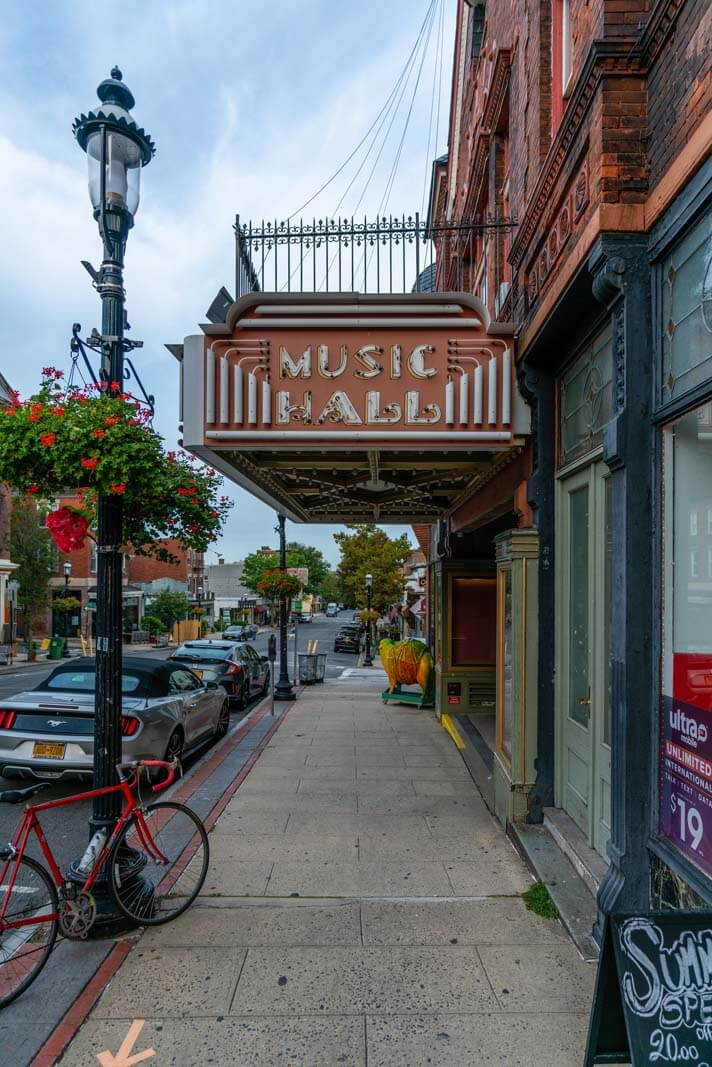 The Music Hall in downtown Tarrytown NY