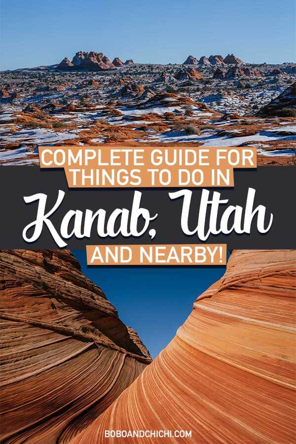 Things to do in Kanab Utah and nearby