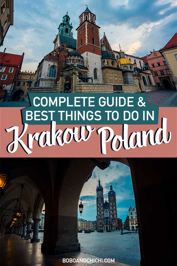 Krakow attractions, what to do in Krakow, and best things to do in Krakow guide
