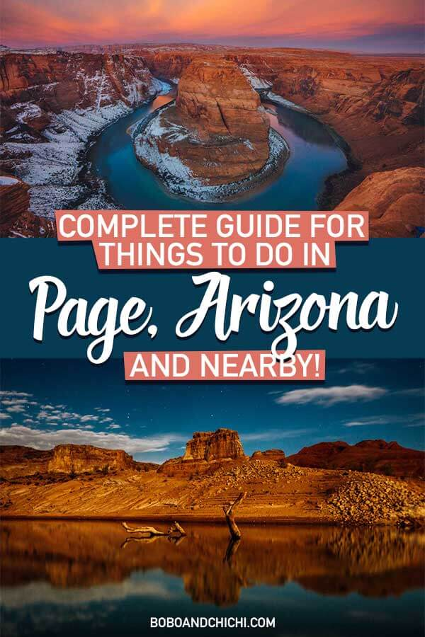Things to do in Page Arizona Nearby
